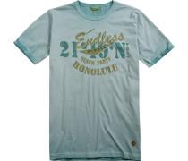 Herren T-Shirt Baumwolle hell