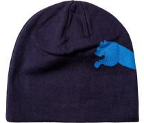 Herren Mütze Baumwolle marine blau