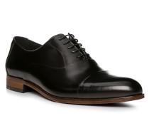 Herren Schuhe MALIK, Kalbleder, schwarz