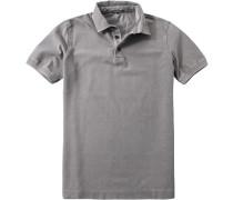 Herren Polo-Shirt Baumwoll-Piqué greige beige