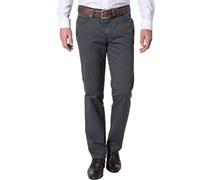 Herren Jeans Contemporary Fit Baumwoll-Stretch grau