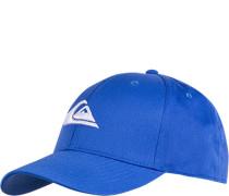 Herren QUIKSILVER Cap Microfaser himmelblau