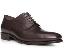 Schuhe Derby Kalbleder dunkel