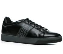 Herren Schuhe Sneaker, Kalbleder, schwarz