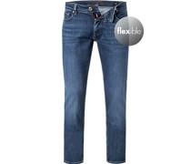 Jeans Slim Fit Baumwoll-Stretch
