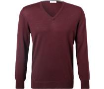 Pullover Schurwolle dunkel
