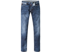 Herren Jeans Slim Fit Baumwoll-Stretch jeans