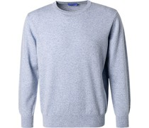 Pullover Reines Kaschmir himmelblau
