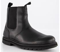 Schuhe Chelsea Boots Leder wasserabweisend