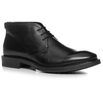Herren Schuhe Desert Boots Kalbleder schwarz schwarz,schwarz
