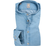 Hemd Perfect Fit Baumwolle jeans