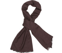 Schal, Modal-Wolle, bordeaux
