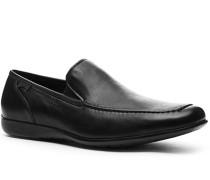 Herren Schuhe Slipper Kalbleder schwarz