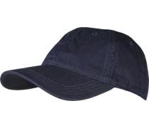 Herren Cap Baumwolle marine