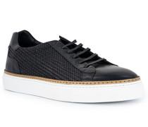 Schuhe Sneaker, Leder, blu