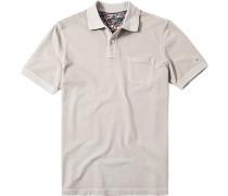 Herren Polo-Shirt Baumwoll-Piqué sand