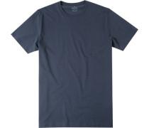 Herren T-Shirt Pima-Baumwolle nacht