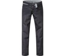 Herren Jeans Robin, Slim Fit, Baumwoll-Stretch, dunkelblau
