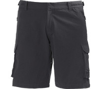 Herren Hose Shorts HP Quick Dry Funktionsmaterial anthrazit