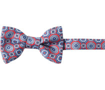 Herren Krawatte ASCOT Schleife Seide -blau gemustert