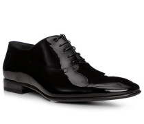Schuhe Oxford Lackleder