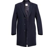 Mantel Wolle-Kaschmir dunkel