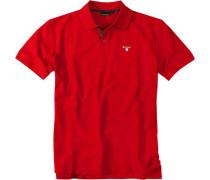 Herren Poloshirt rot