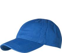 Herren Cap, Baumwolle, blau