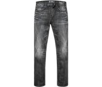 Herren Jeans Baumwoll-Stretch