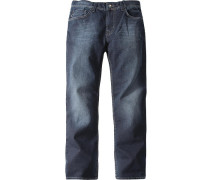 Herren Jeans 'Rick' Slim Fit Baumwolle blau