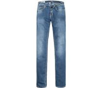 Herren Jeans Baumwoll-Stretch denim