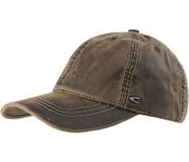 Herren Cap, Baumwolle, khaki braun