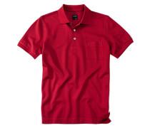 Herren Polo-Shirt Baumwoll-Piqué dunkel