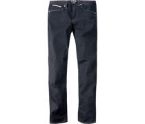 Herren Jeans Baumwolle nachtblau