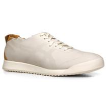 Herren Schuhe Sneaker Leder offwhite