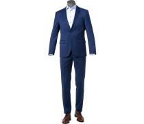 Anzug, Modern Fit, Schurwolle klimaregulierend
