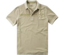 Herren Polo-Shirt Baumwoll-Piqué beige