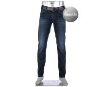 Hose Pipe, Regular Slim Fit, Baumwolle T400