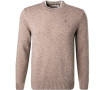 Pullover Lammwolle  meliert