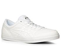 Herren Schuhe Sneaker Canvas weiß