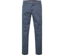 Jeans, Baumwoll-Stretch, dunkel