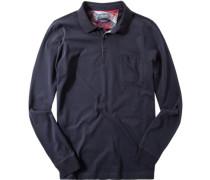 Herren Polo-Shirt Jersey dunkel