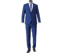 Anzug Modern Fit Schurwolle Super100 royal