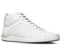 Herren Schuhe Sneakers Glattleder weiß