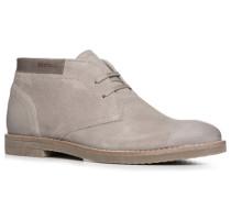 Herren Schuhe Desert Boots Veloursleder taupe beige
