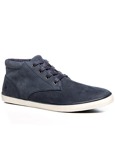ralph lauren herren herren schuhe sneaker nubukleder navy blau blau reduziert. Black Bedroom Furniture Sets. Home Design Ideas