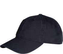 Herren strellson Cap Baumwolle marine blau