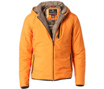 Herren Jacke Microfaser Ecodown® orange