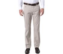 Herren Jeans Baumwoll-Stretch beige