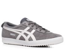 Herren Schuhe Sneaker Veloursleder grau